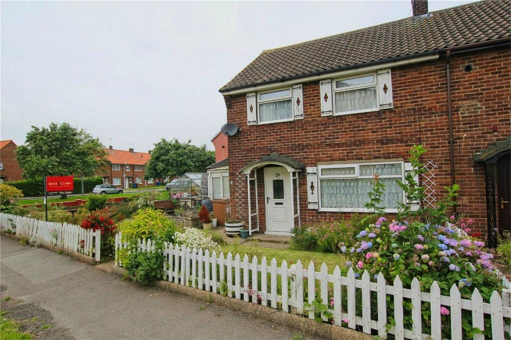 2 Bedrooms End Of Terrace House for sale in Wilberforce Crescent, Beverley, East Riding of Yorkshire