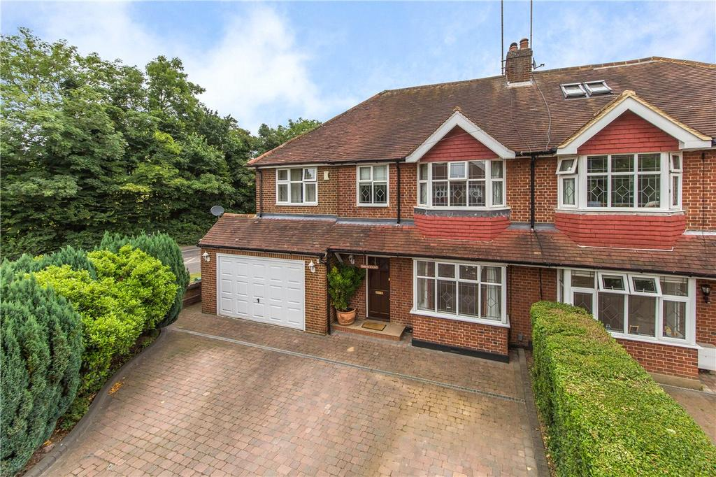5 Bedrooms Semi Detached House for sale in Becketts Avenue, St. Albans, Hertfordshire
