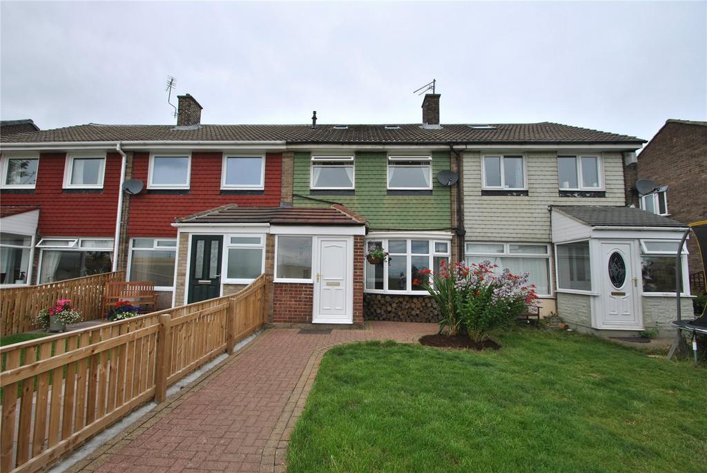 2 Bedrooms Terraced House for sale in Melrose Avenue, Murton, Seaham, Co. Durham, SR7