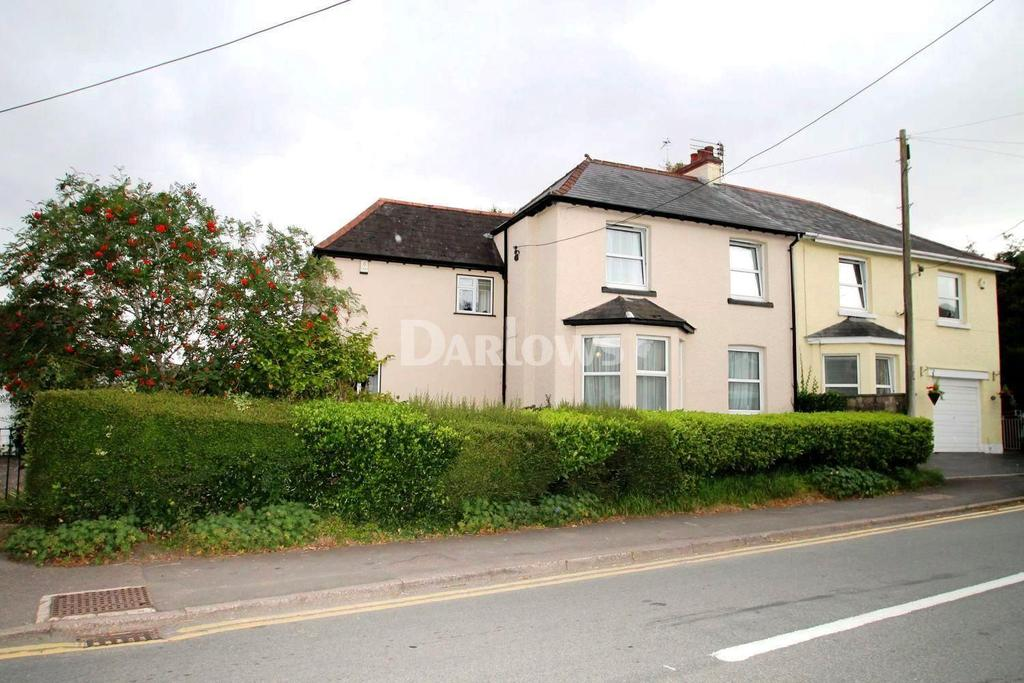 4 Bedrooms Semi Detached House for sale in Marshfield Road, Marshfield, Cardiff