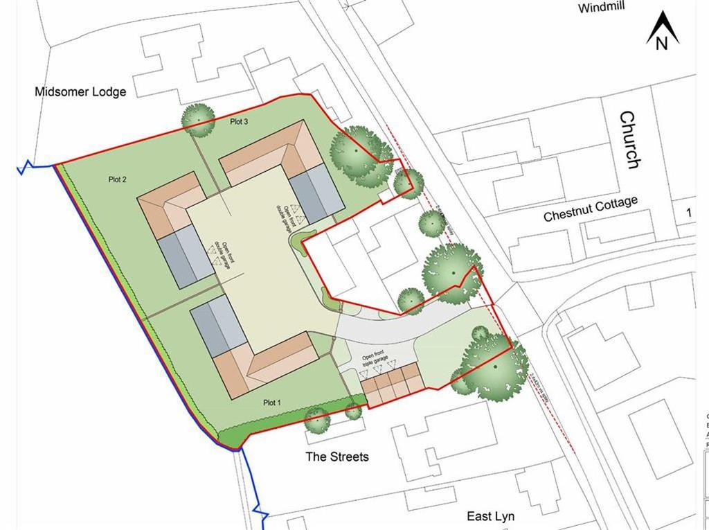Land Commercial for sale in Main Road, Toynton All Saints, Spilsby, Lincolnshire