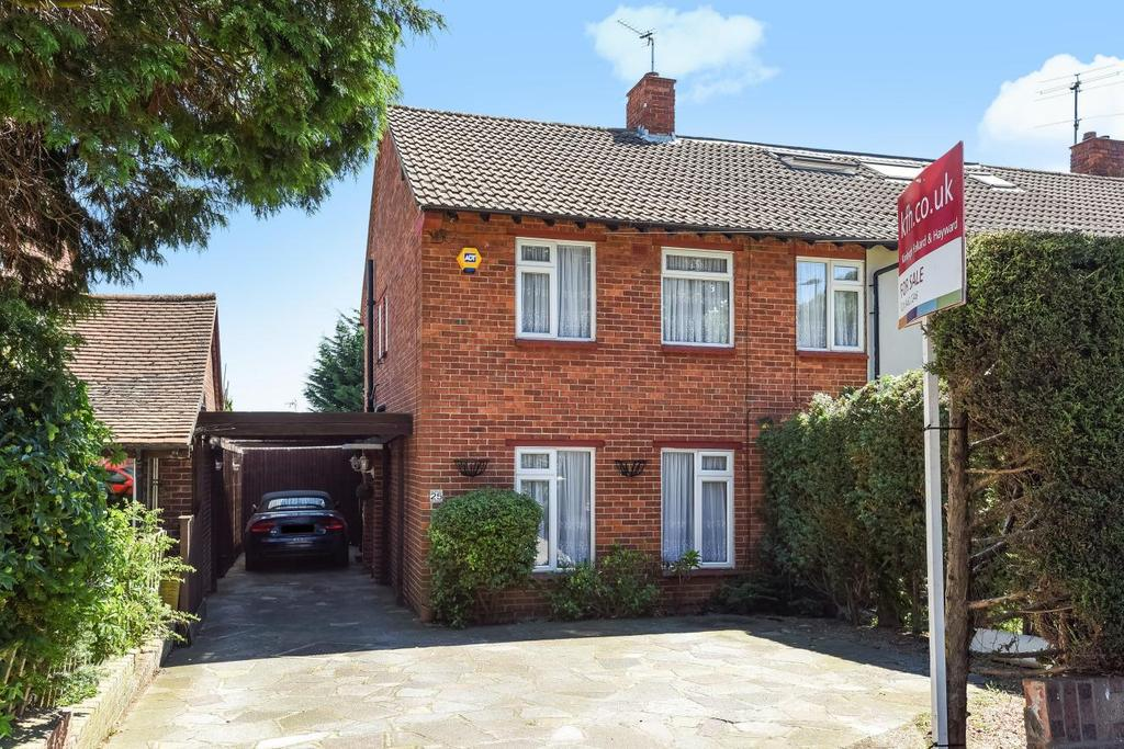 3 Bedrooms Terraced House for sale in Eastry Avenue, Hayes, BR2