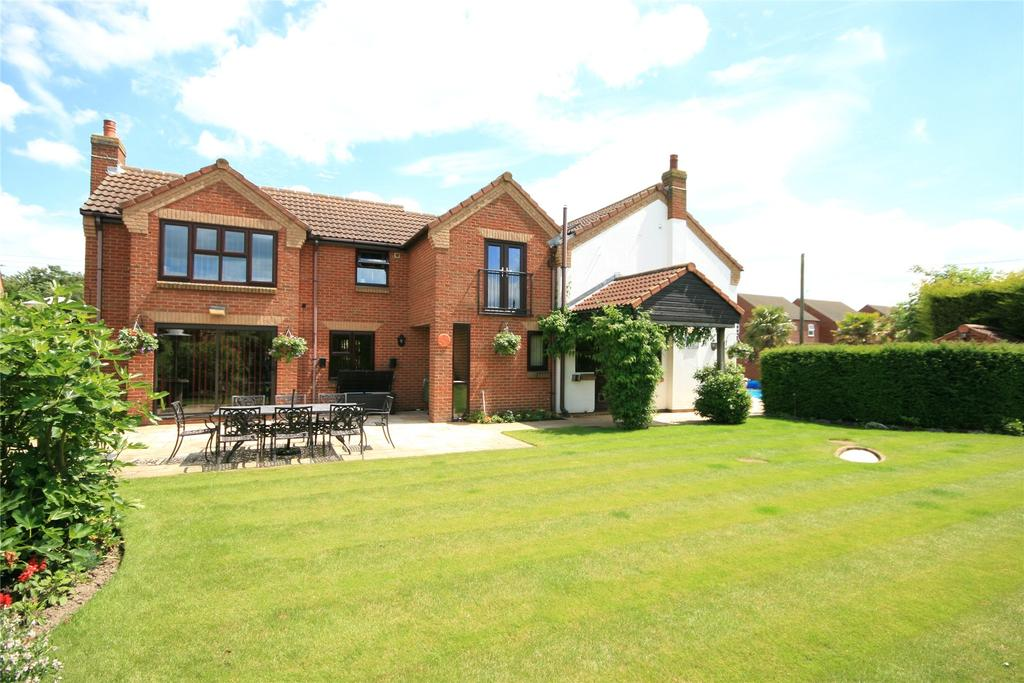 4 Bedrooms Detached House for sale in Beck Bank, West Pinchbeck, PE11