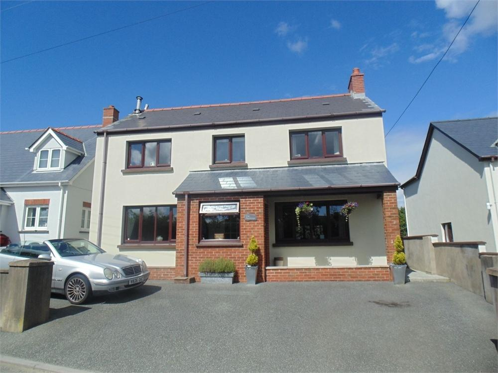 4 Bedrooms Detached House for sale in The Anchorage, New Road, Hook, Haverfordwest, Pembrokeshire