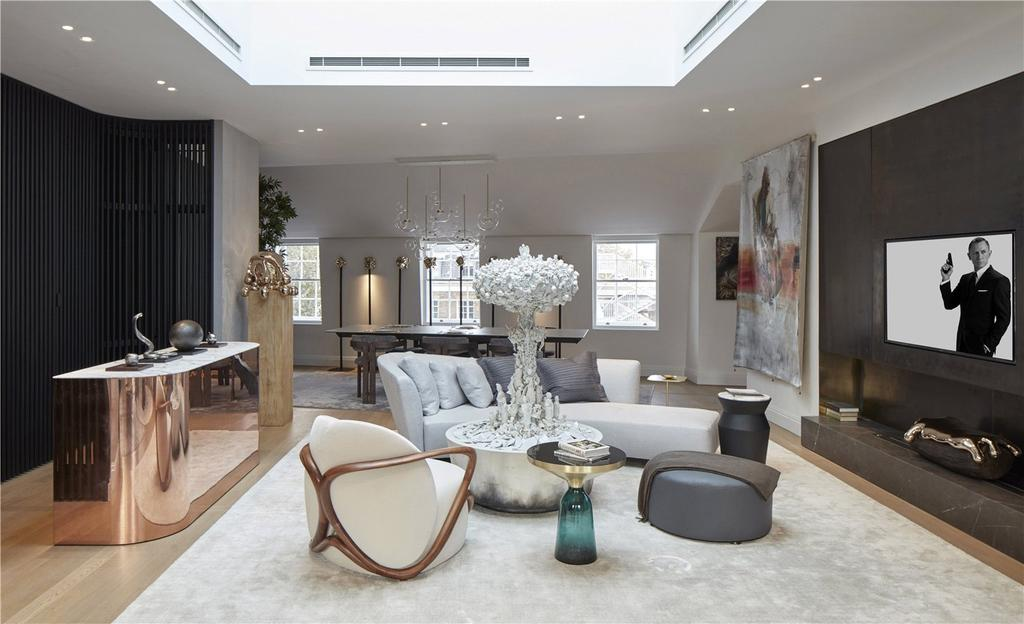 3 Bedrooms Flat for sale in The Wedgwood, Penthouse Apartment, The Park Crescent, Regent's Park, W1B