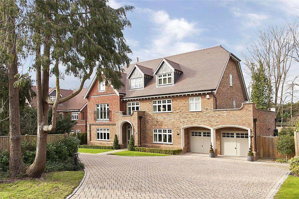 5 Bedrooms Detached House for sale in Fairmeads, Cobham, Surrey, KT11