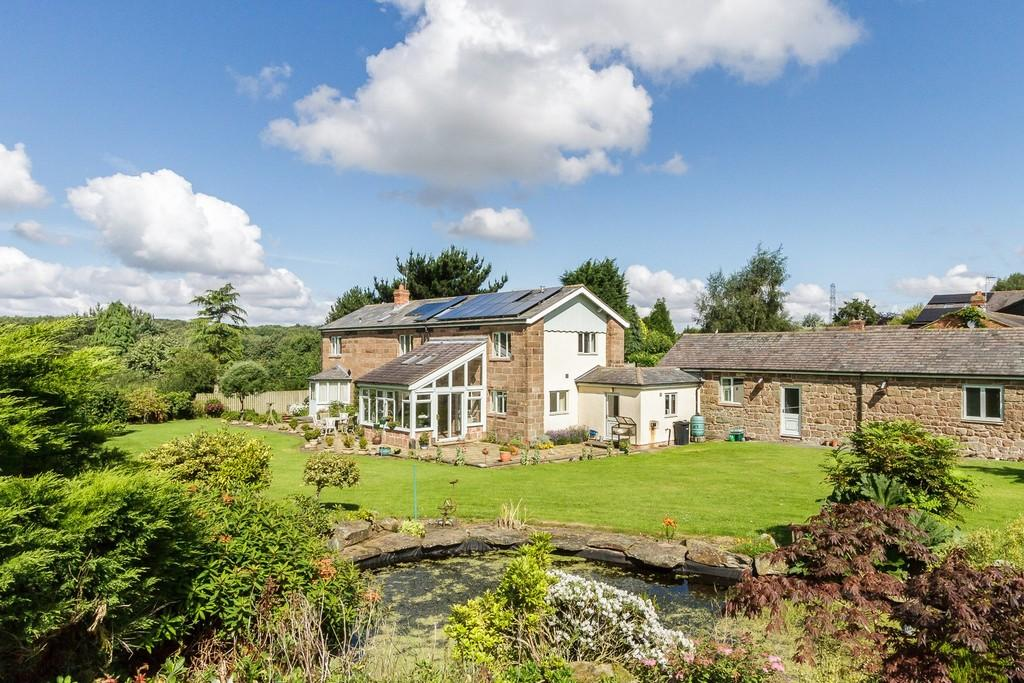 4 Bedrooms Detached House for sale in The Barn House, Manley, WA6 6HT