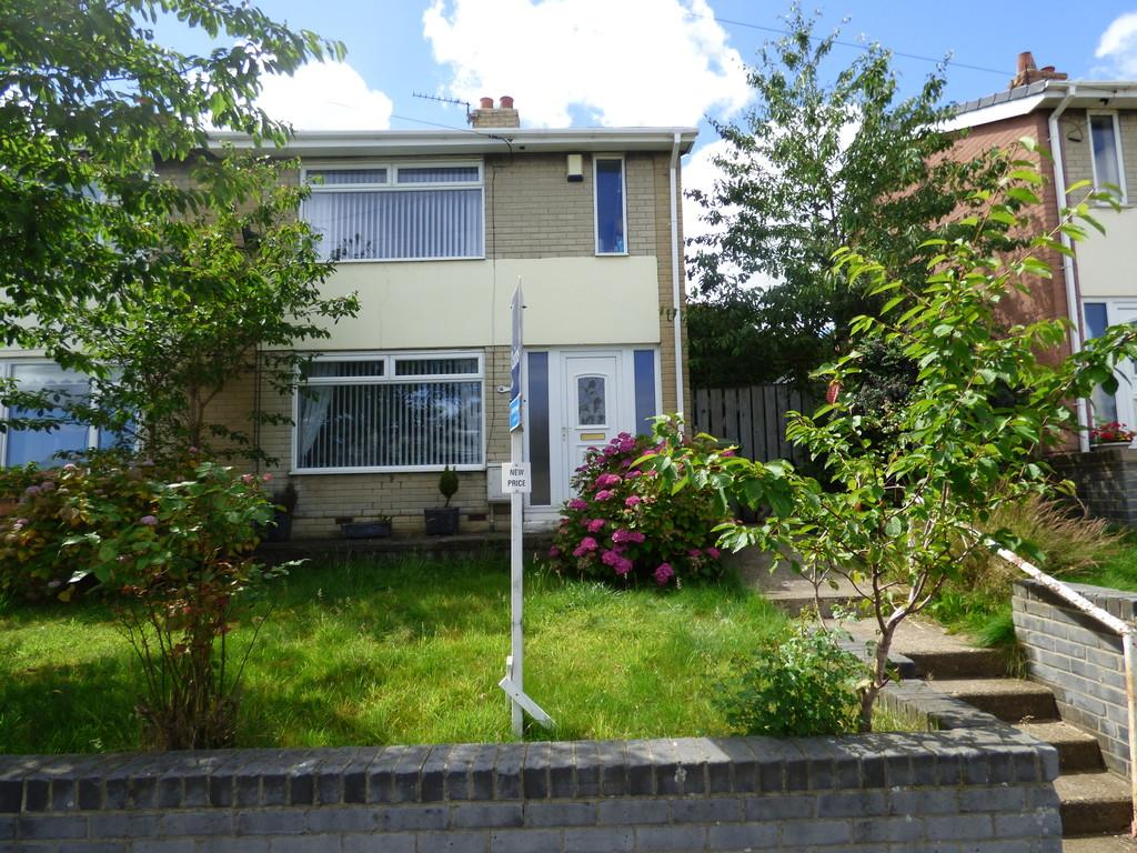2 Bedrooms End Of Terrace House for sale in Roseby Road, Horden