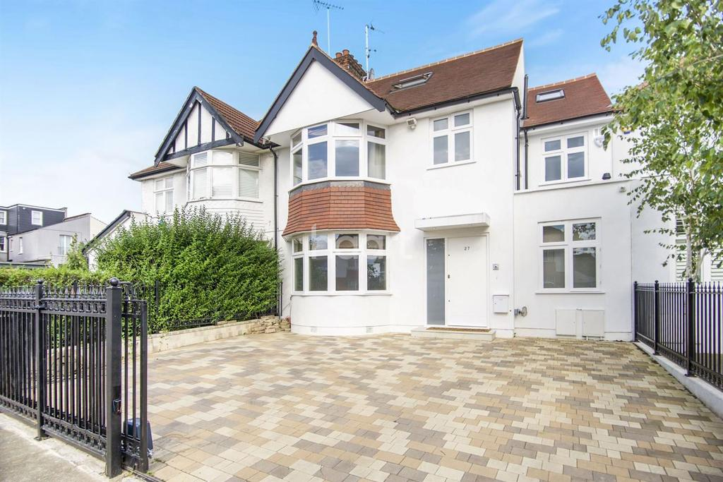 4 Bedrooms Semi Detached House for sale in Wren Avenue, NW2