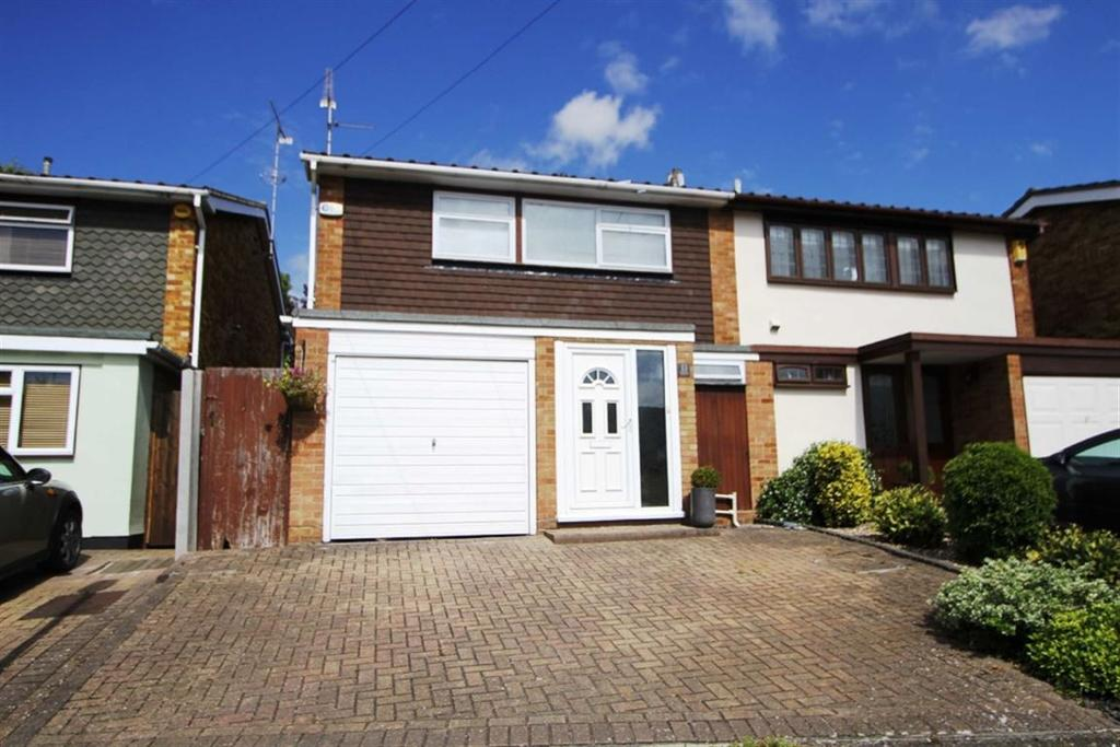 3 Bedrooms Semi Detached House for sale in Highfield Approach, Billericay, Essex, CM11 2PD