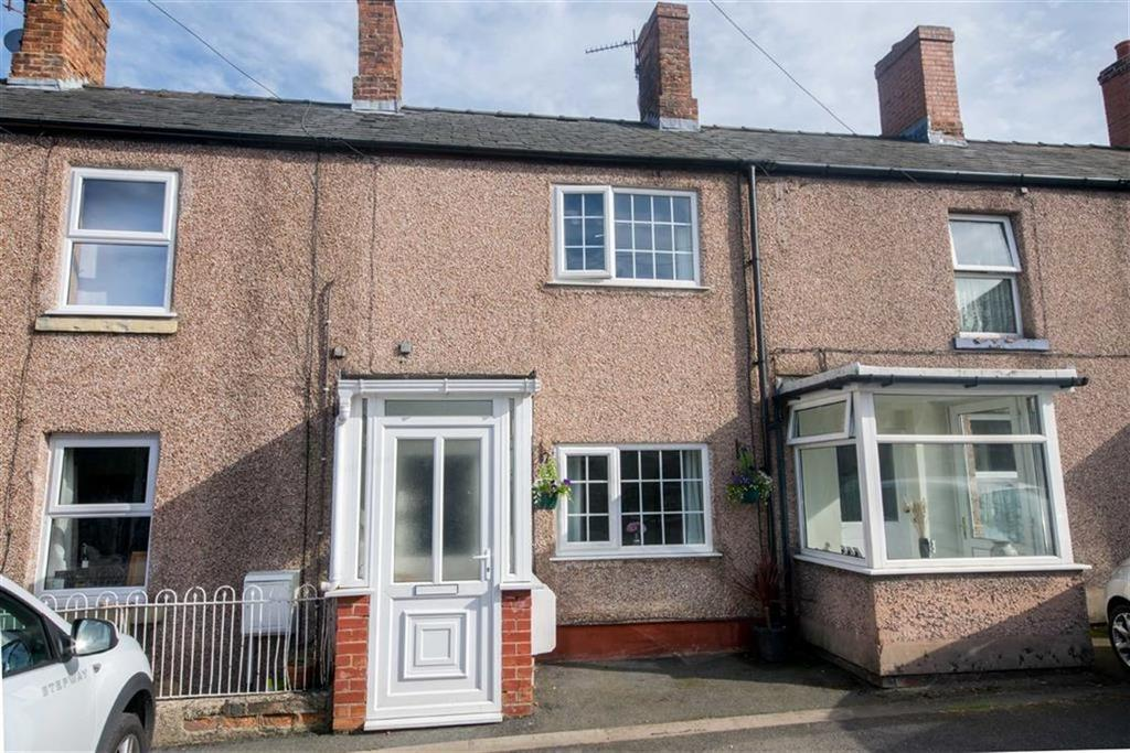 2 Bedrooms Terraced House for sale in Railway Terrace, Trefnant, Denbigh