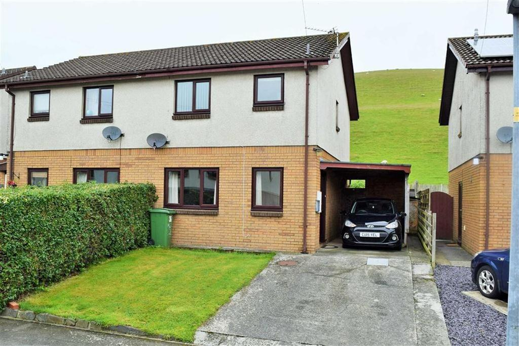 3 Bedrooms Semi Detached House for sale in 36, Bryncastell, Bowstreet, Ceredigion, SY24