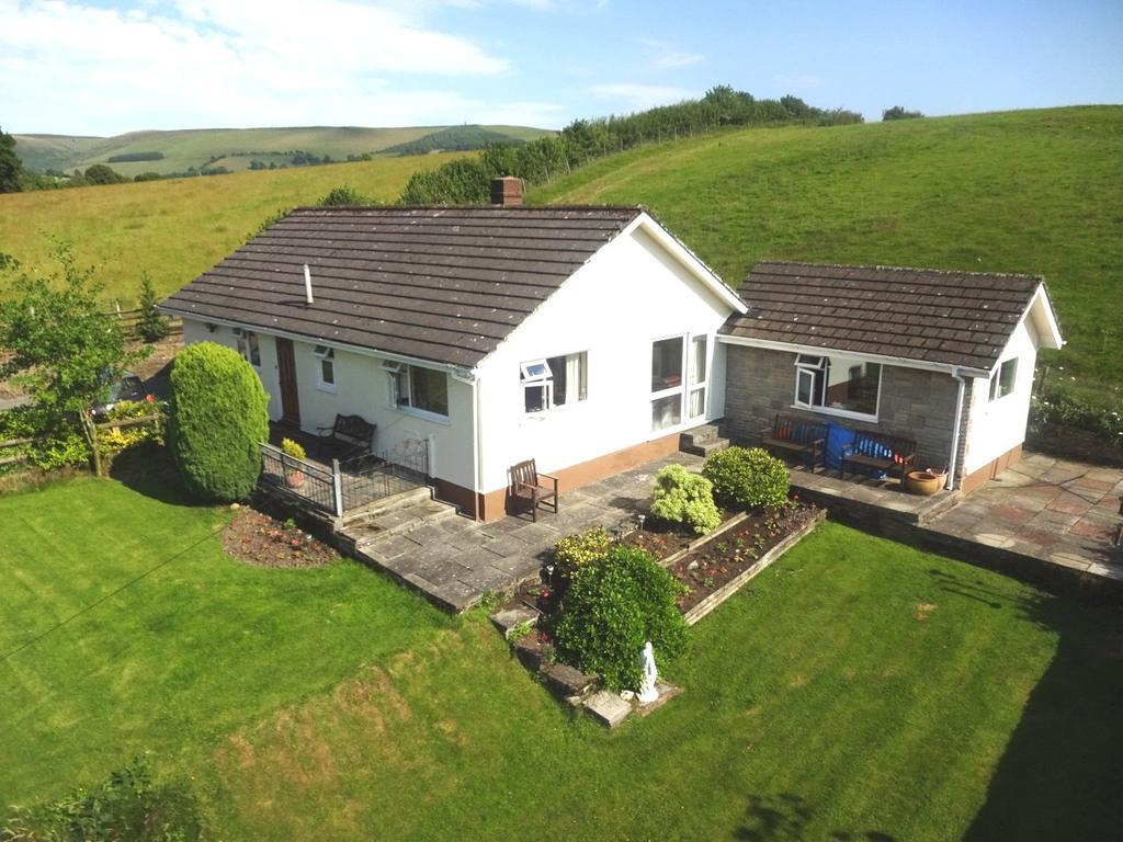 4 Bedrooms Detached Bungalow for sale in Franksbridge, Llandrindod Wells, Powys