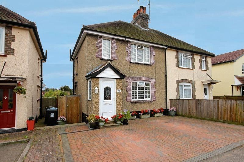 2 Bedrooms Semi Detached House for sale in Cavendish Road, Markyate