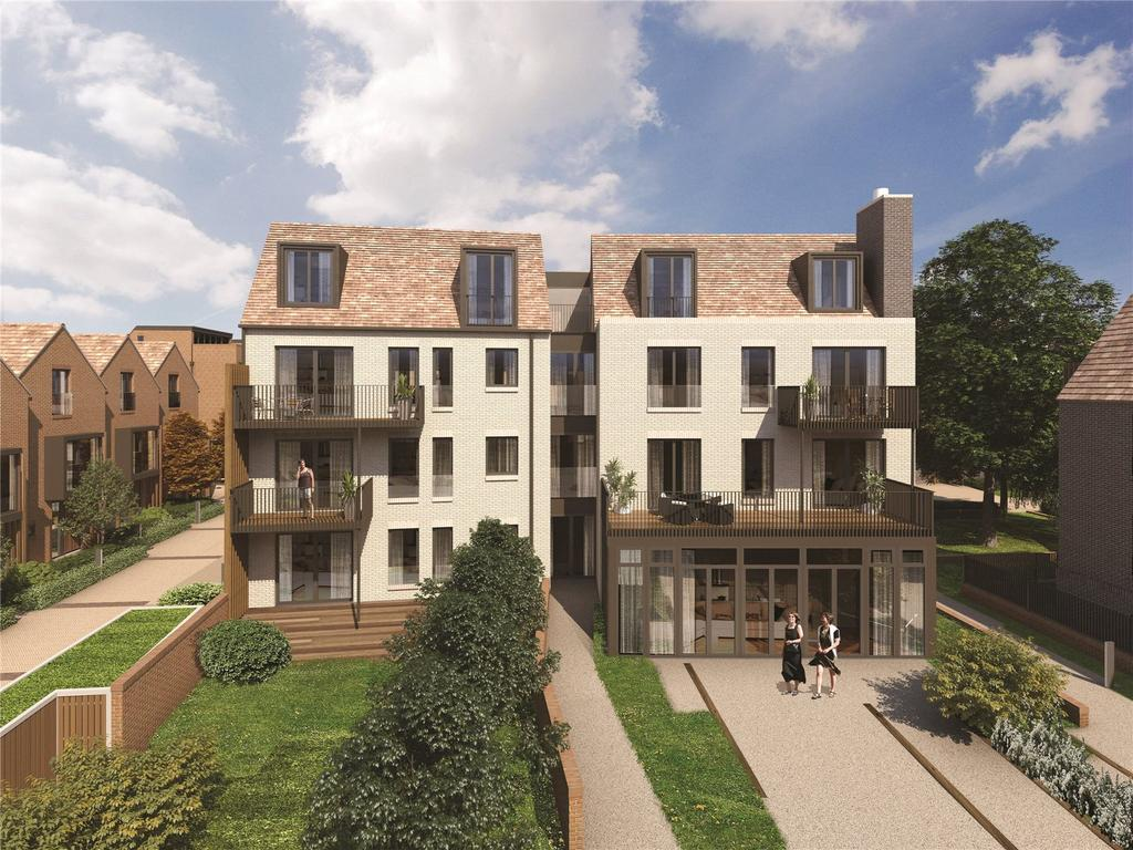 3 Bedrooms Flat for sale in Woodside Square, Muswell Hill, London, N10