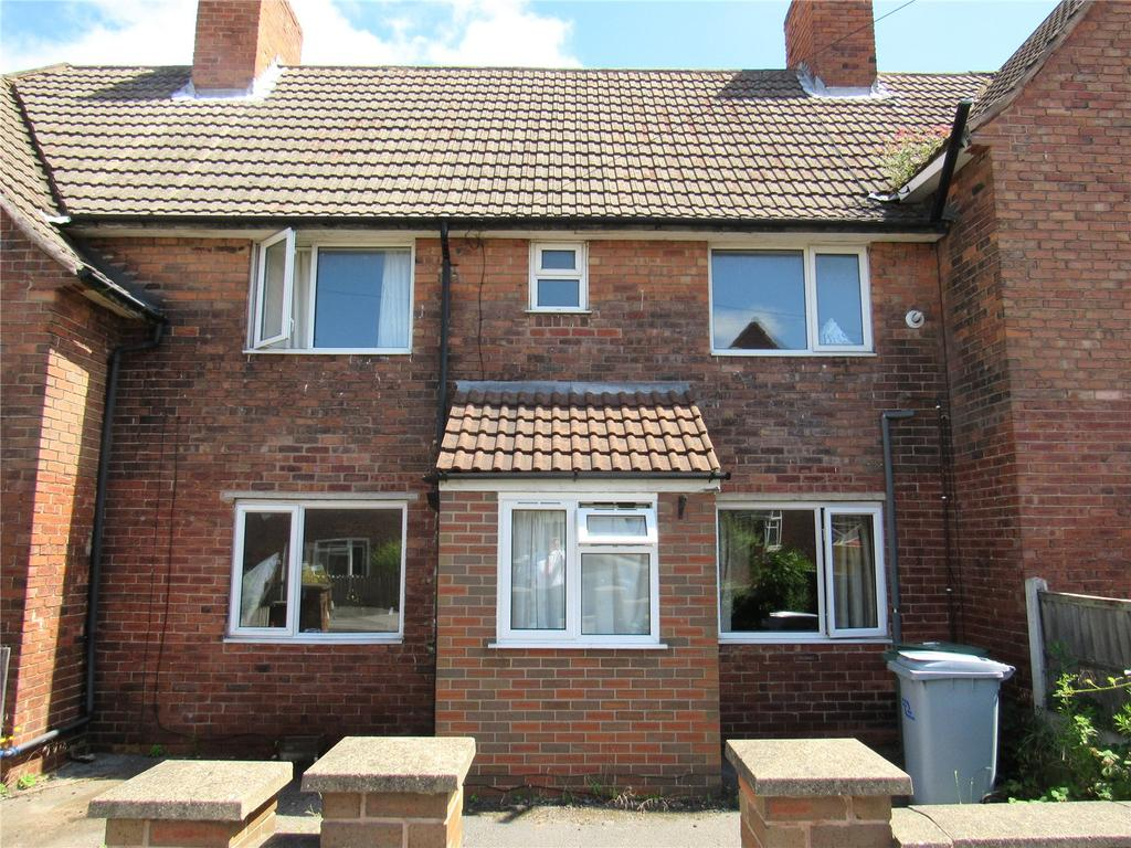 3 Bedrooms Terraced House for sale in Fourth Avenue, Clipstone, Nottinghamshire, NG21