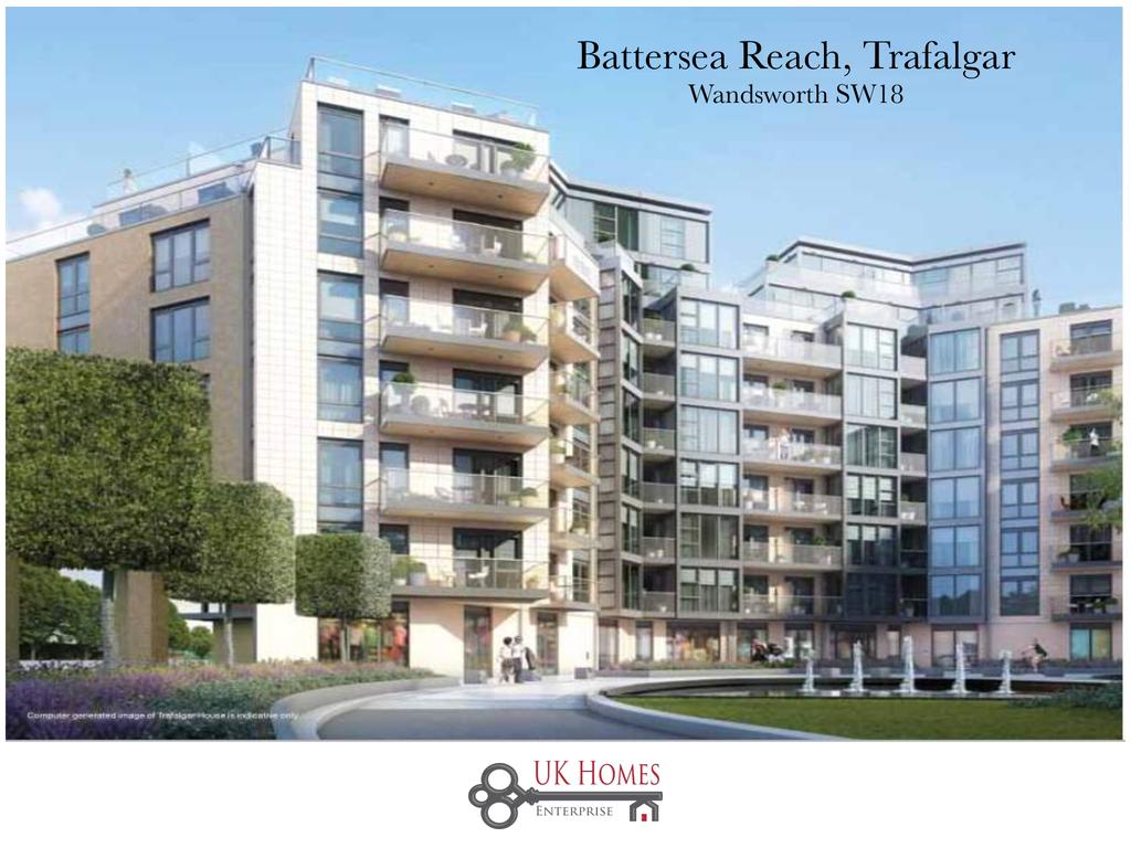 2 Bedrooms Flat for sale in Battersea Reach, Trafalgar, Wandsworth