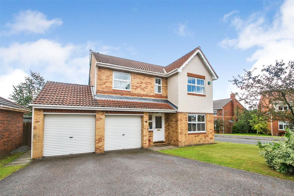 4 Bedrooms Detached House for sale in Richmond Drive, Woodstone Village, Tyne and Wear, DH4
