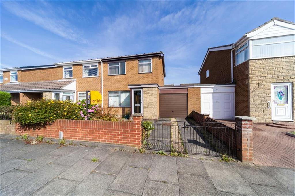 3 Bedrooms Semi Detached House for sale in Canterbury Avenue, Hadrian Park, Wallsend, NE28