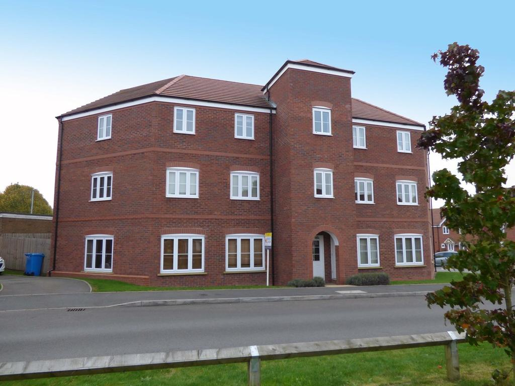 2 Bedrooms Apartment Flat for sale in Flat 23 Rowan Close, Huntington, WS12 4GD