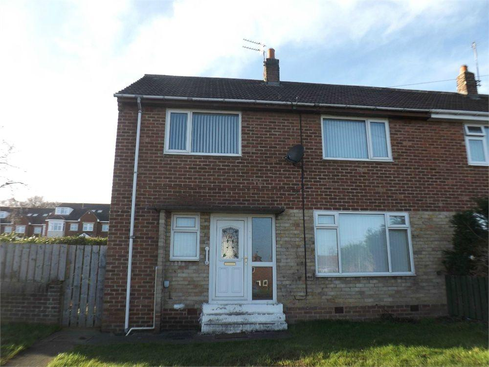 3 Bedrooms Semi Detached House for sale in Briar Close, Kimblesworth, Chester le Street, Durham