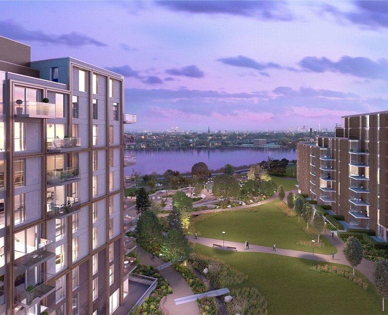 2 Bedrooms Flat for sale in Woodberry Down, Finsbury Park, London
