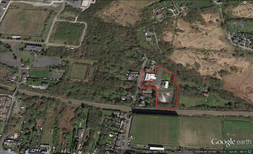 Land Commercial for sale in Roseland Road , Waunarlwydd RFC, Swansea, Swansea