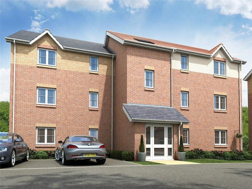 2 Bedrooms Flat for sale in Lawton House, Oliver's Heights, Blueberry Way