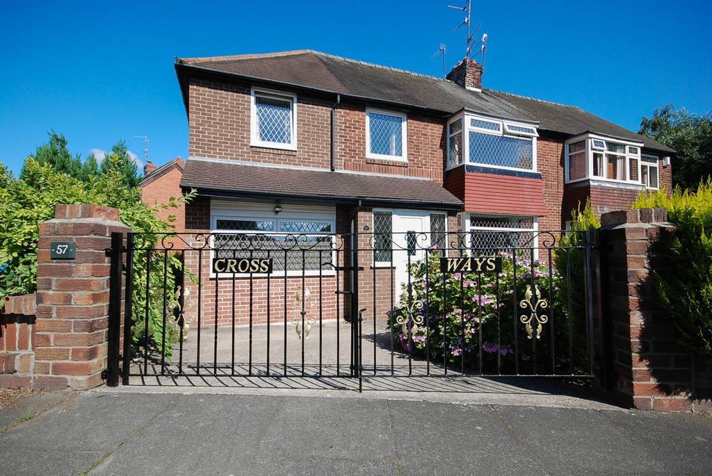 4 Bedrooms Semi Detached House for sale in Sunderland Road Villas, Heworth