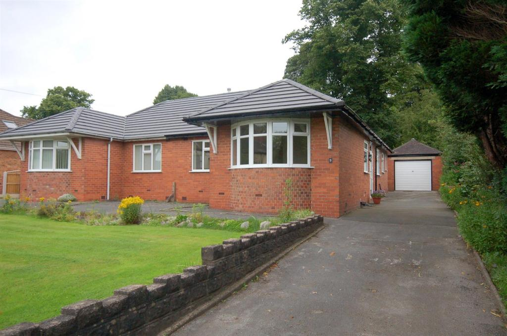 2 Bedrooms Semi Detached Bungalow for sale in Sandbach Road South, Alsager