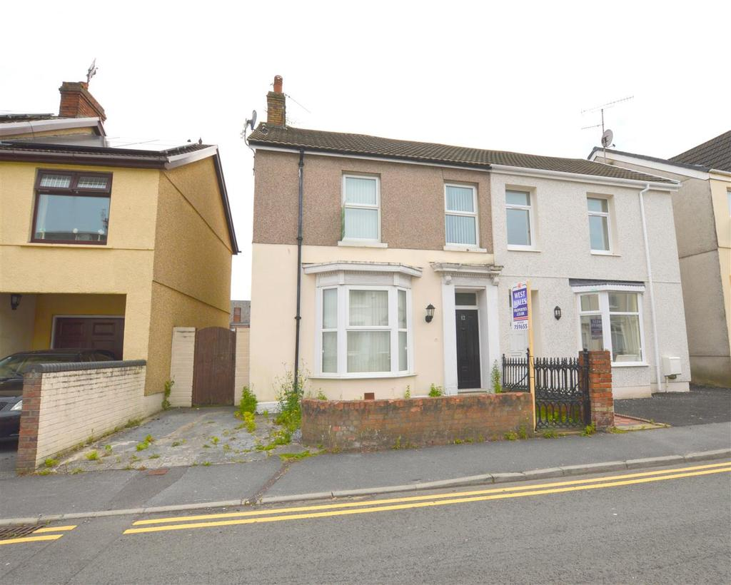 3 Bedrooms Semi Detached House for sale in Coldstream Street, Llanelli