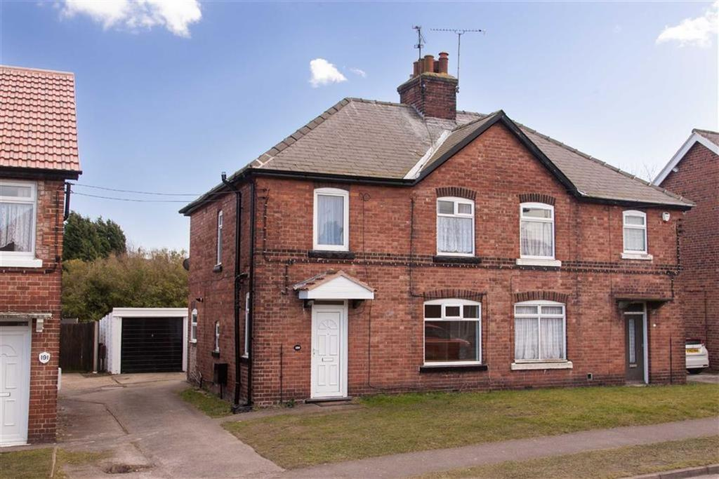 3 Bedrooms Semi Detached House for sale in Walesby Lane, Ollerton