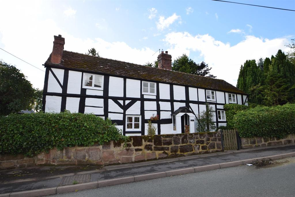4 Bedrooms Detached House for sale in Inglenook, 15 Myddle, Shrewsbury, SY4 3RX