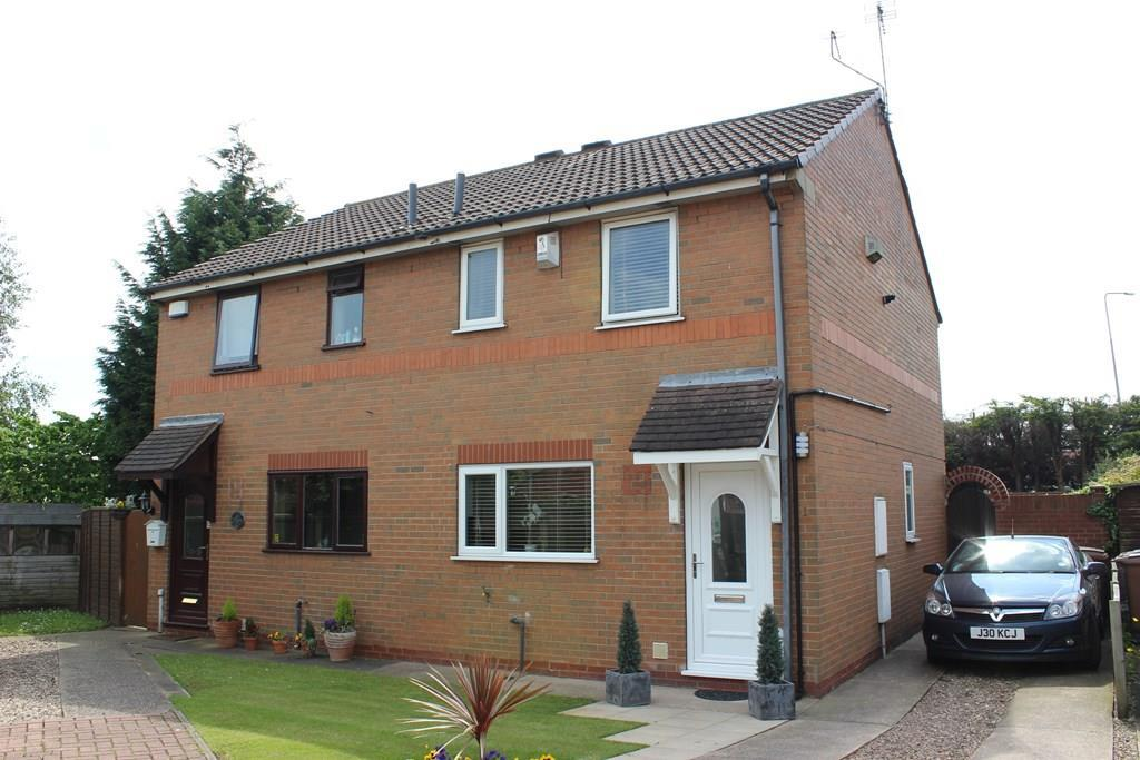 2 Bedrooms Semi Detached House for sale in Orchard Close, Anlaby