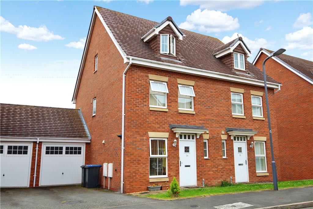 3 Bedrooms Semi Detached House for sale in Cordelia Close, Stratford-upon-Avon, Warwickshire, CV37