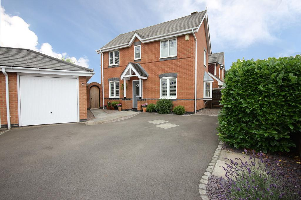 3 Bedrooms End Of Terrace House for sale in Kingfisher Road, Mountsorrel