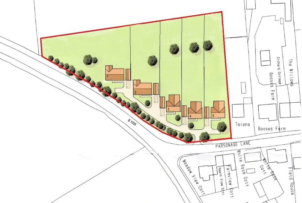 Land Commercial for sale in Parsonage Lane, Tendring, Clacton-on-Sea, Essex