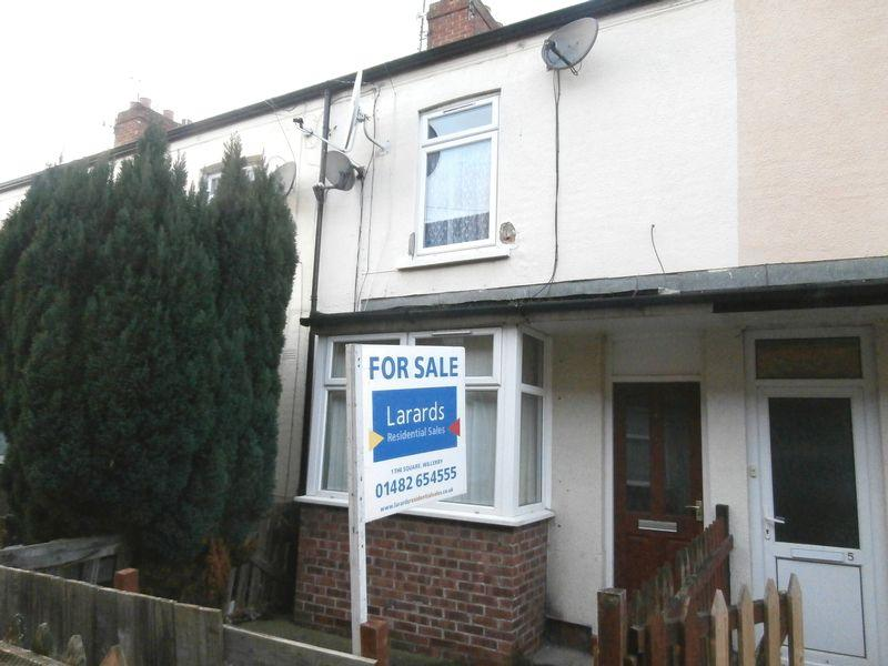 2 Bedrooms Terraced House for sale in Irene Avenue, East Hull, East Yorkshire