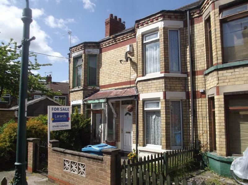 2 Bedrooms Terraced House for sale in Shirley Avenue, West Hull,
