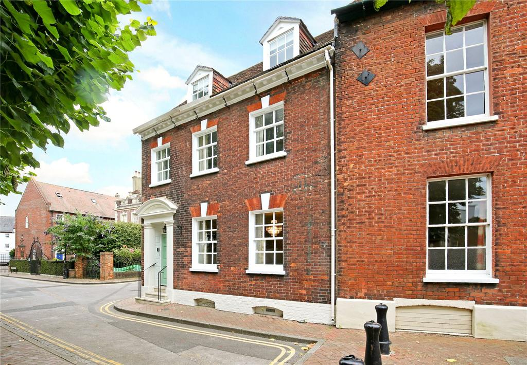 4 Bedrooms End Of Terrace House for sale in St James Close, Old Town Poole, Poole, Dorset, BH15
