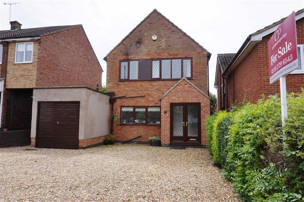 3 Bedrooms Detached House for sale in Thurnby