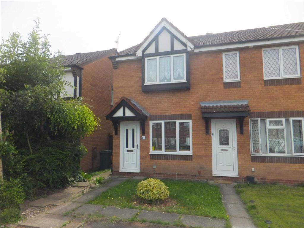 2 Bedrooms End Of Terrace House for sale in Rochester Close, Nuneaton, Warwickshire, CV11