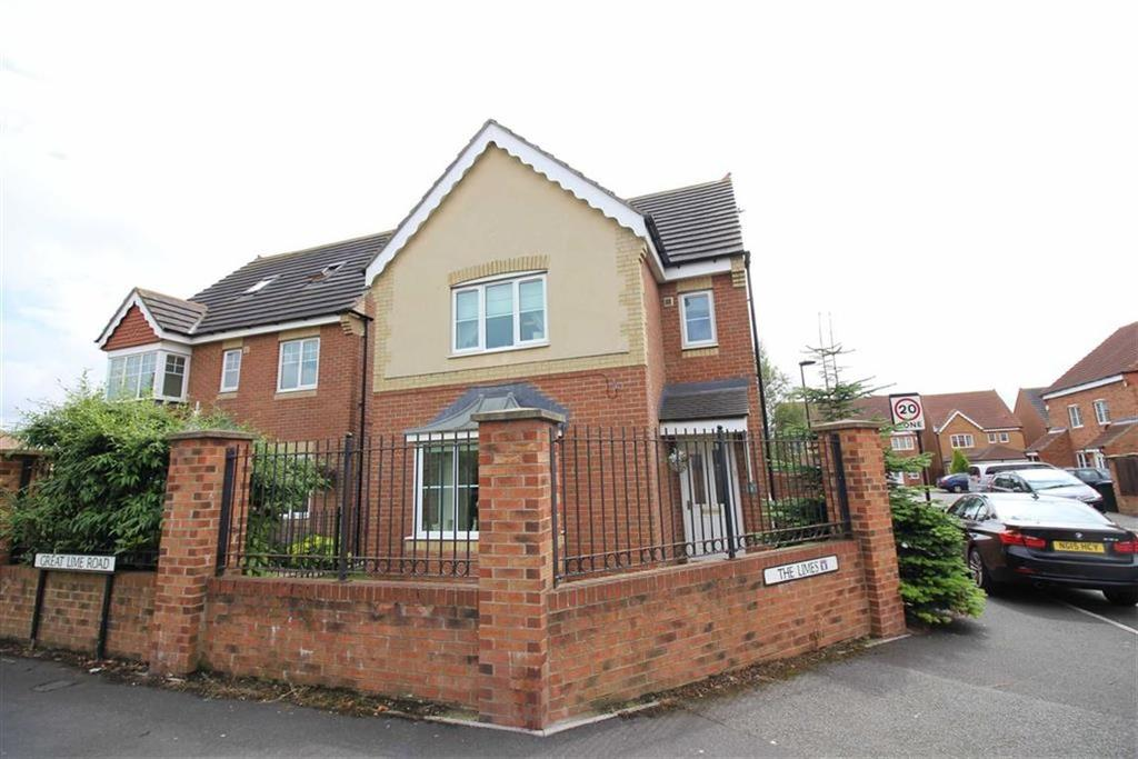 4 Bedrooms Detached House for sale in The Limes, Newcastle Upon Tyne