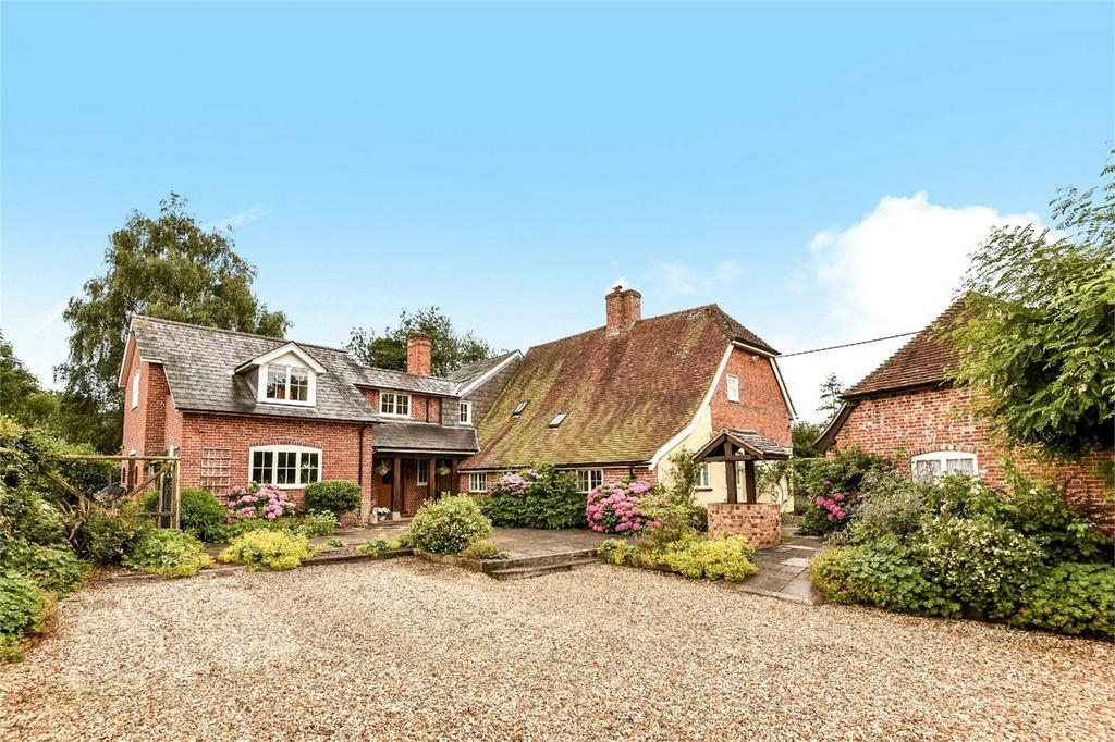 4 Bedrooms Detached House for sale in Awbridge, Romsey, Hampshire