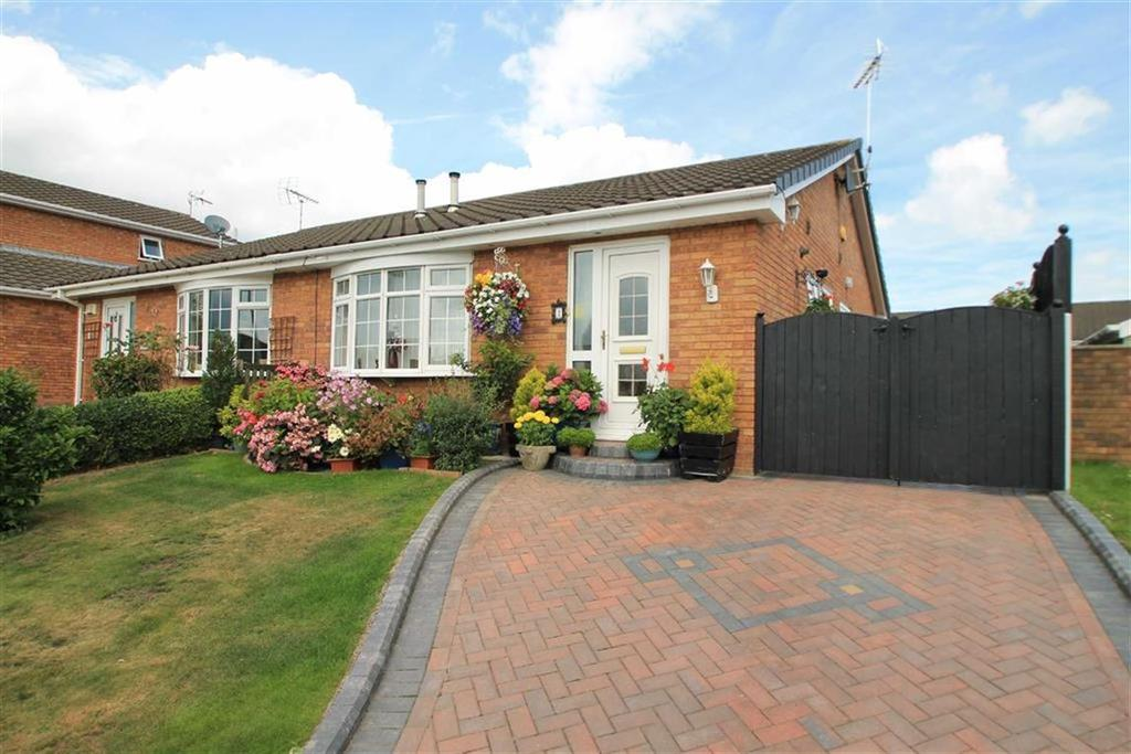 2 Bedrooms Semi Detached Bungalow for sale in Troon Close, Wrexham