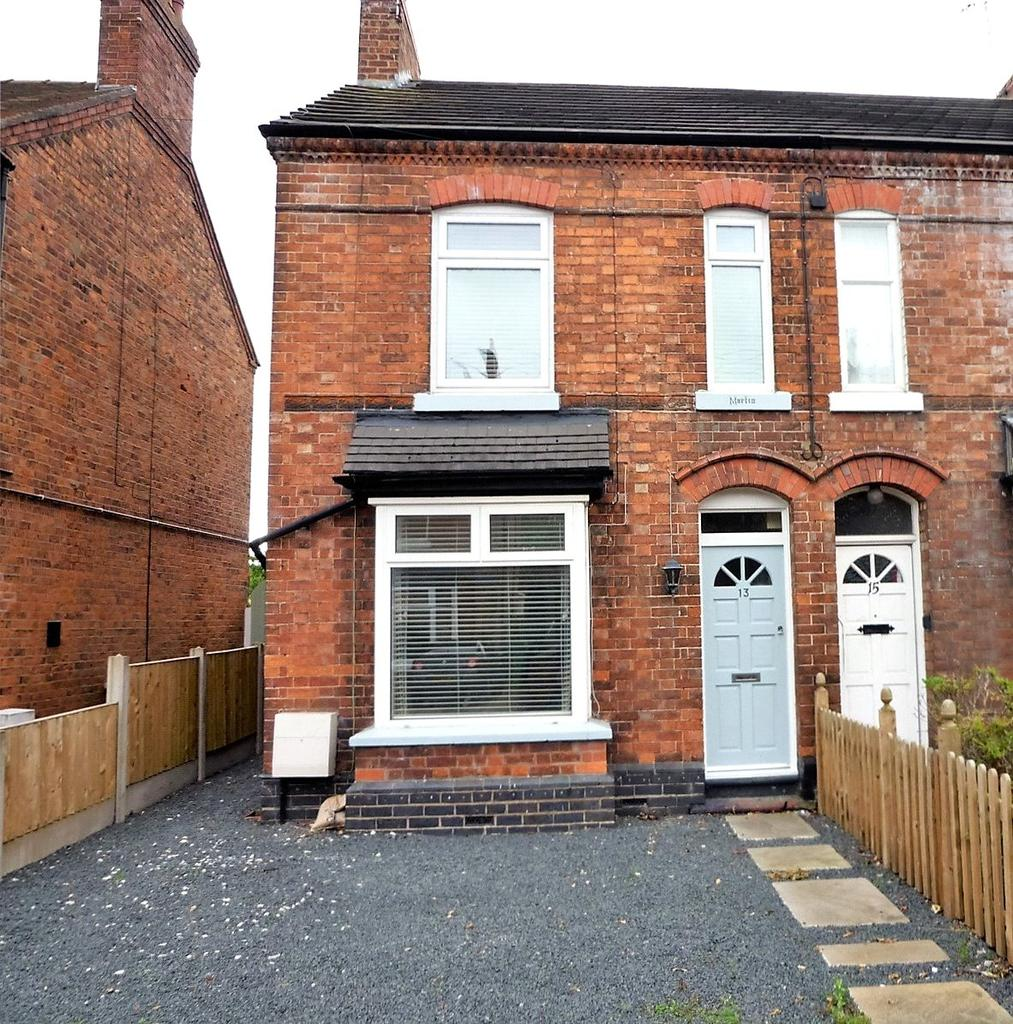 3 Bedrooms Semi Detached House for sale in Coppice Road, Willaston, Nantwich, Cheshire, CW5