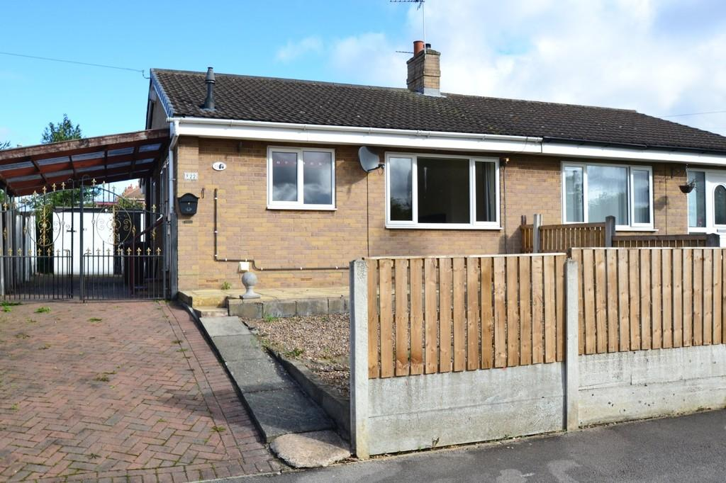 2 Bedrooms Semi Detached Bungalow for sale in Barnsdale Way, Upton