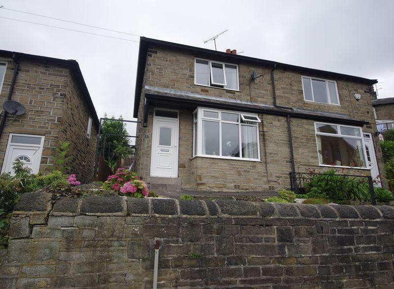 2 Bedrooms Semi Detached House for sale in Dam Head Road, Sowerby Bridge, HX6 2SR
