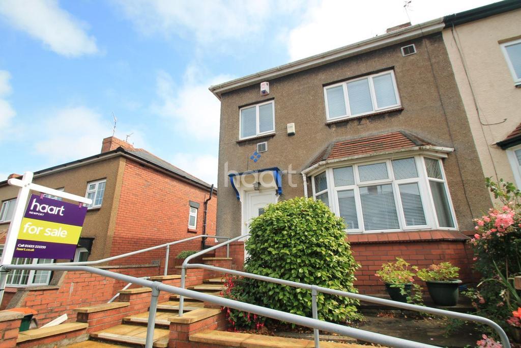 3 Bedrooms End Of Terrace House for sale in Denbigh Road, st julians, newport