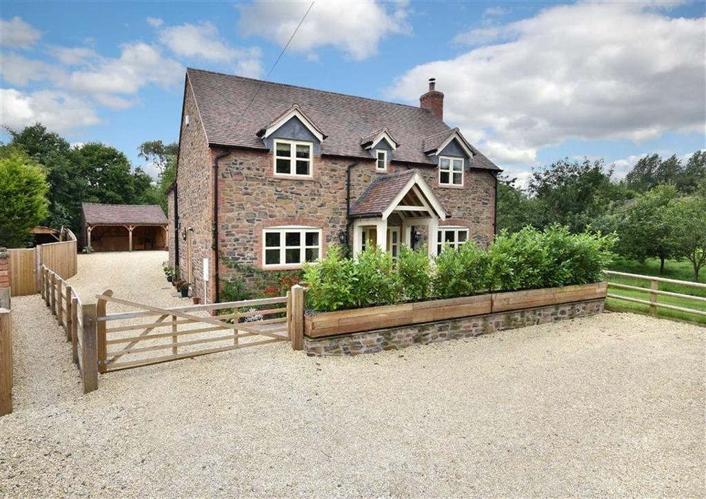 4 Bedrooms Detached House for sale in Garden Cottage, South Road, Ditton Priors, Bridgnorth, Shropshire, WV16